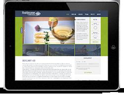 Hochbrunner Responsive Homepage iPad haberer media Internetagentur Südtirol